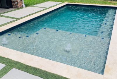 Classic Pool with deck jets
