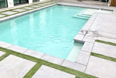 Geometric-Pool-with-steps