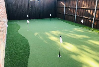 Putting course