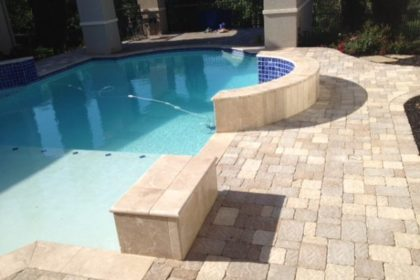 Decking Concrete Pavers