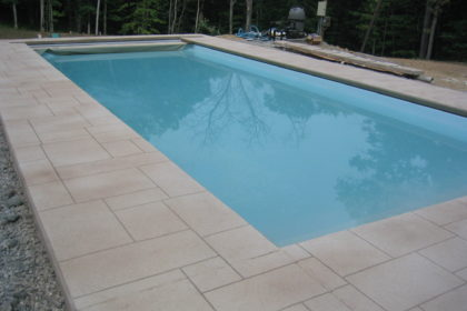 Stamped Concrete Pool Decking