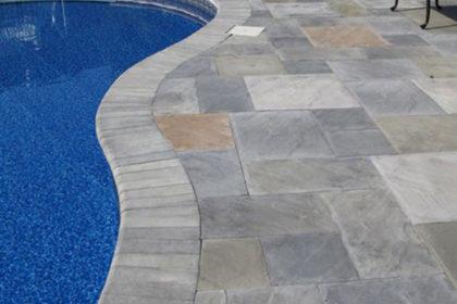 Stamped Concrete Pool Decking2
