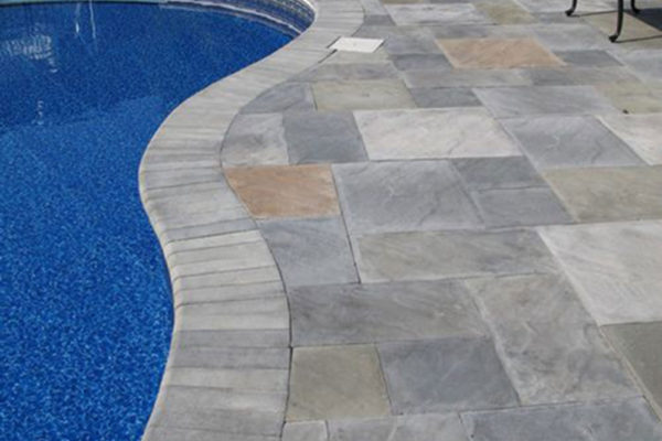 Stamped Concrete Pool Decking2