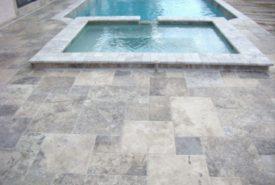 Travertine Pool Decking 4
