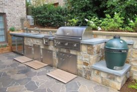 Kitchen Grilling Station