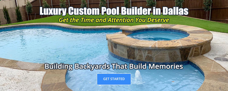 Luxury Custom Pool Builder in Dallas