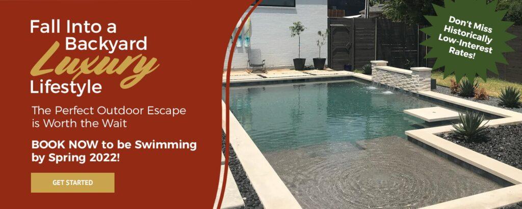 Fall Into a Backyard Luxury Lifestyle